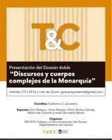 """Presentación del Dossier doble: """"Discursos y cuerpos complejos de la Monarquía"""""""