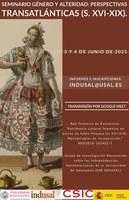 Seminario: Género y alteridad en la época Moderna. Perspectivas transatlánticas (s. XVI-XIX)